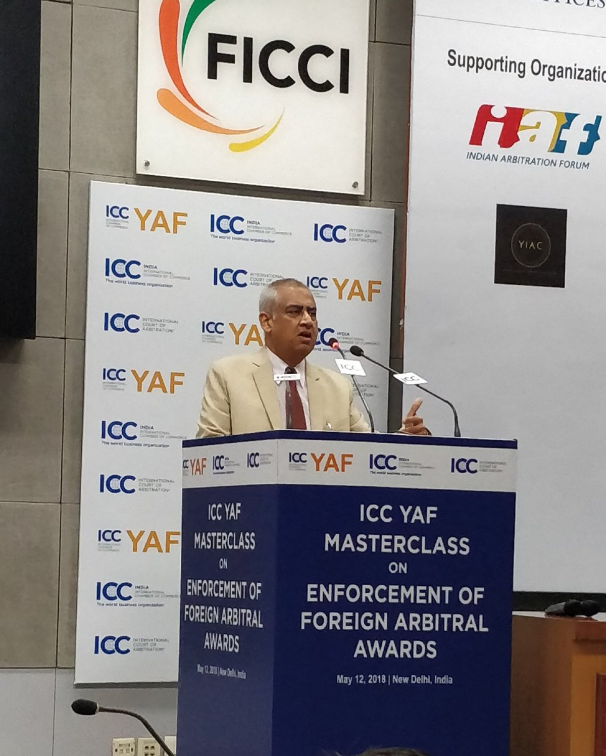 ICC YAF holds Masterclass on Enforcement of Foreign Arbitral Awards