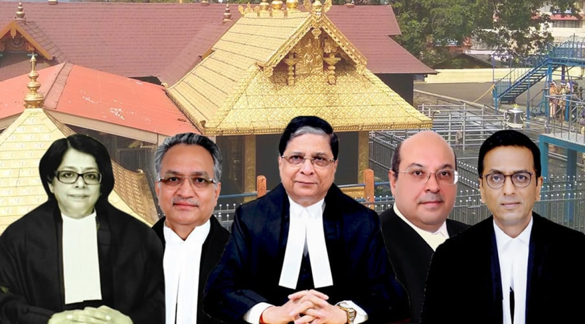 Supreme Court to pronounce verdict tomorrow in Sabarimala temple entry for women