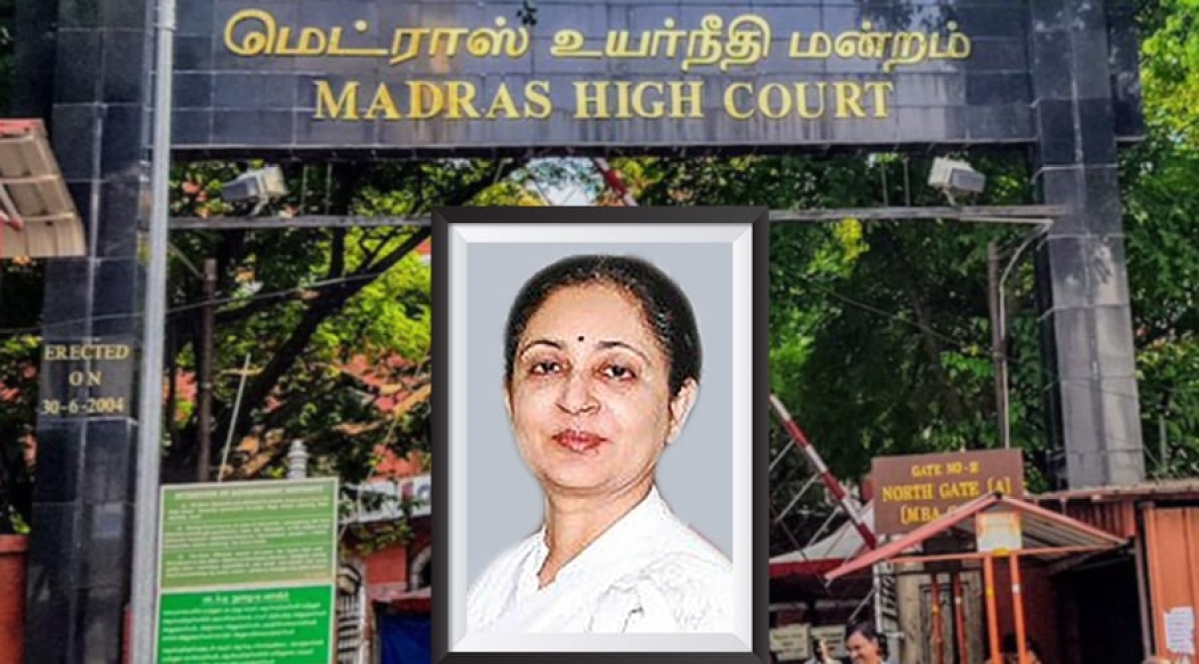 Madras High Court Chief Justice VK Tahilramani decides to resign after Collegium proposes transfer to Meghalaya