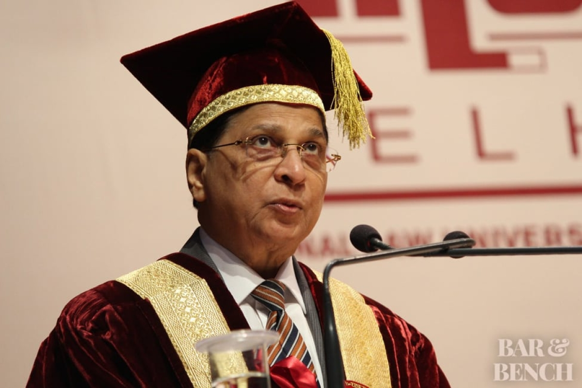 'You are the crusaders of change for social justice', CJI Dipak Misra to NLU Delhi graduates