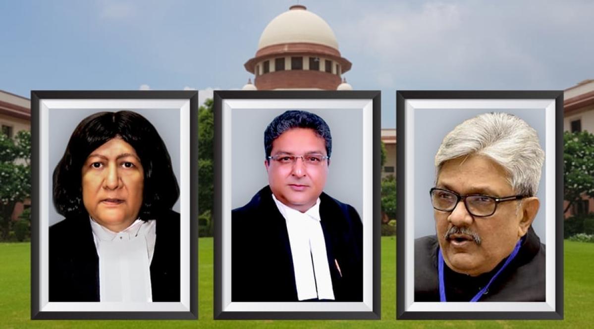 Justices Indira Banerjee, Vineet Saran, KM Joseph sworn in as Supreme Court judges