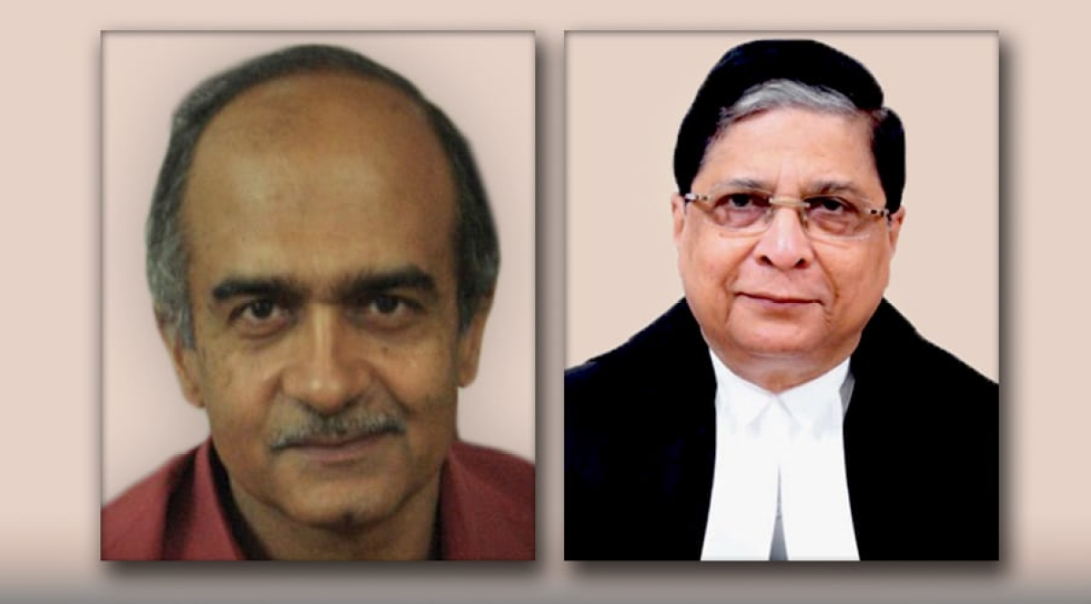 Don't deal with sanction request to register FIR against Narayan Shukla J. – Prashant Bhushan to CJI
