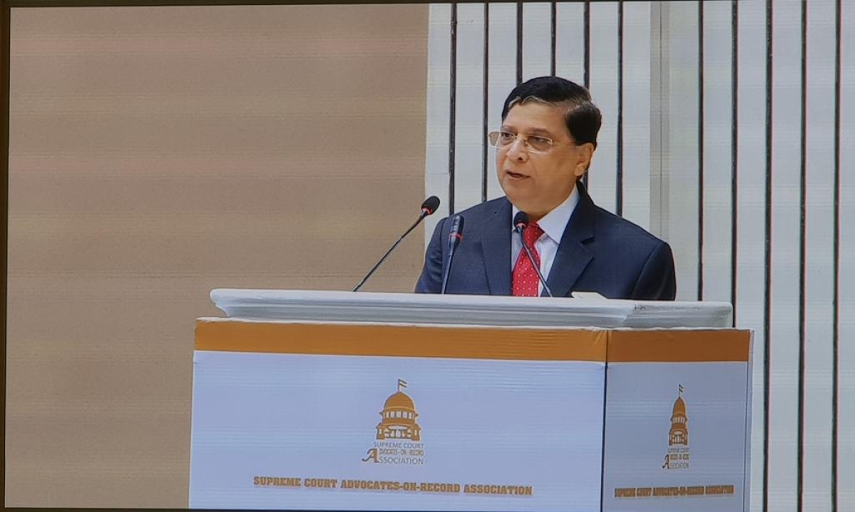 """In the evening, I will respond from my mind"", CJI Dipak Misra"
