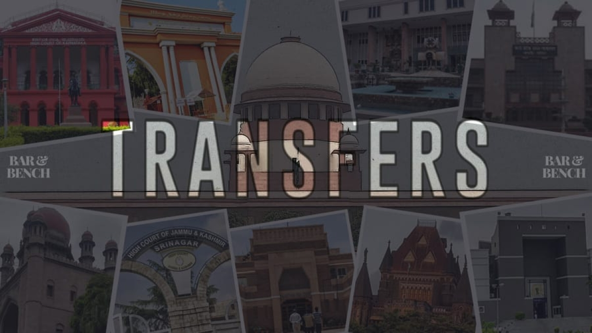 Government notifies transfer of judges to Allahabad HC, Orissa HC [Read Notifications]