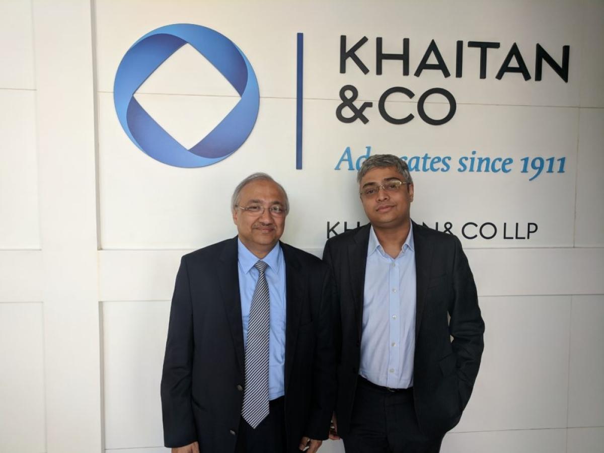 25 years of Khaitan & Co's Bangalore office: Partners Rajiv Khaitan and Ganesh Prasad