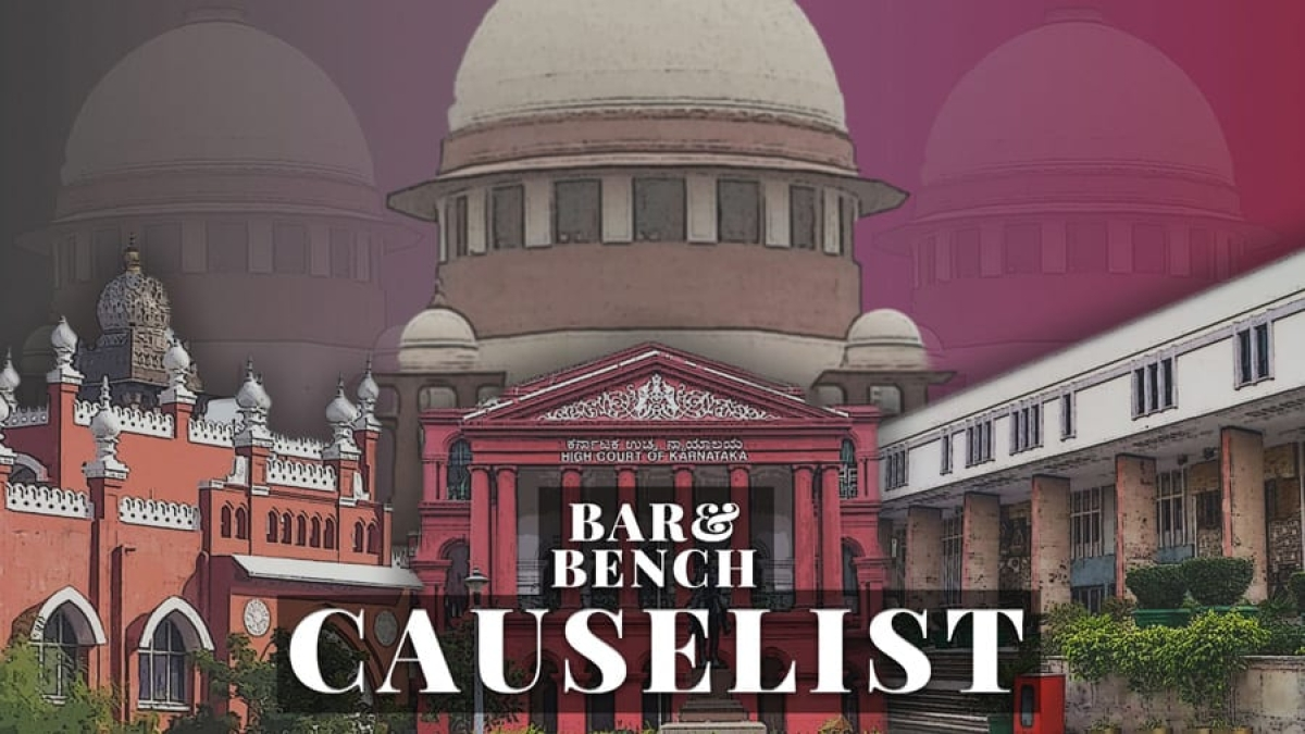 The B&B Causelist #205: Cases we track today