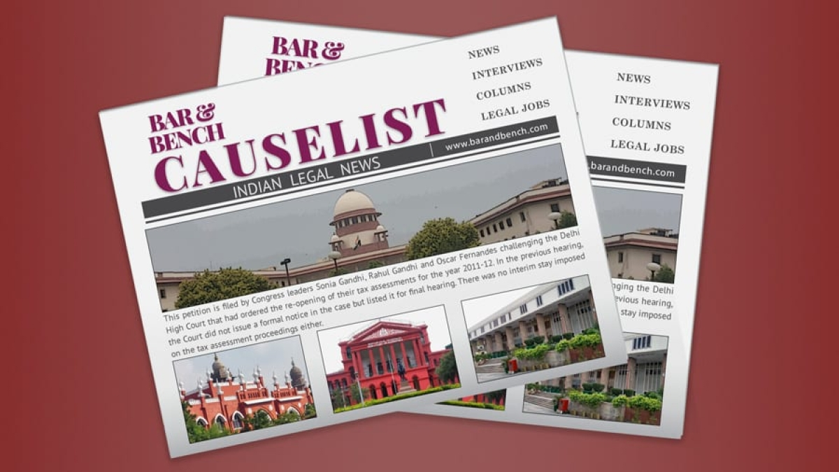 The B&B Causelist #26 of 2020: Cases we track today