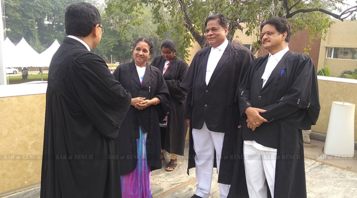 Smaller than a Moot Court Hall: The makeshift campus of the Andhra Pradesh High Court
