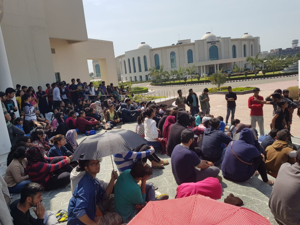 Day 4 of RGNUL Protests: Students approach SHRC, Police and RAF called in, Media shut out