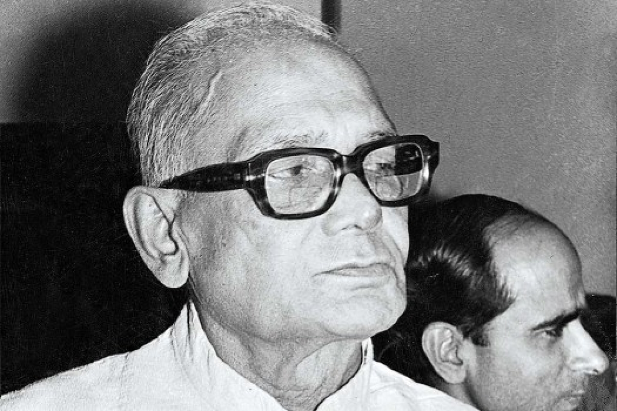 Jayaprakash Narayan, whose movement Sawhney wanted to play a role in [Source: Outlook]