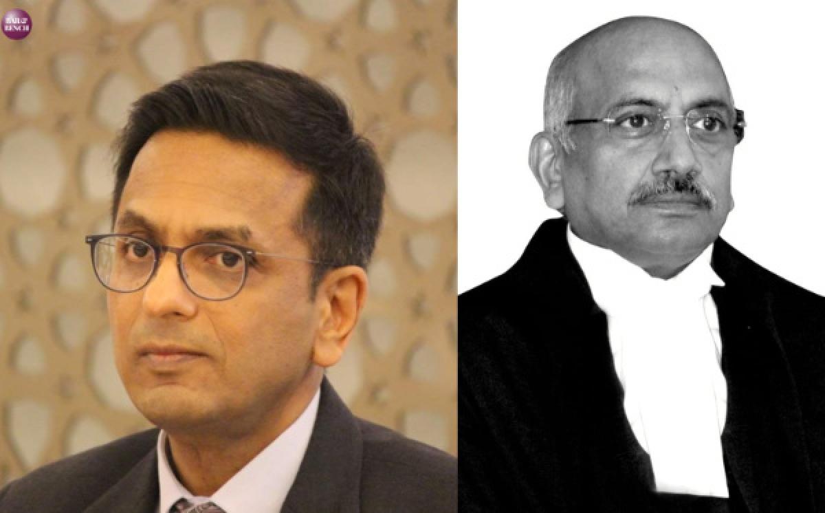 Justice Chandrachud and Justice Hemant Gupta