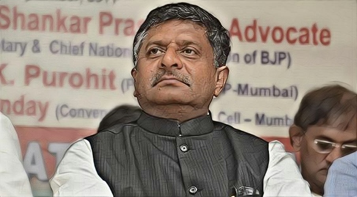 """Harsh words"" must be avoided by Supreme Court judges: Law Minister Ravi Shankar Prasad"