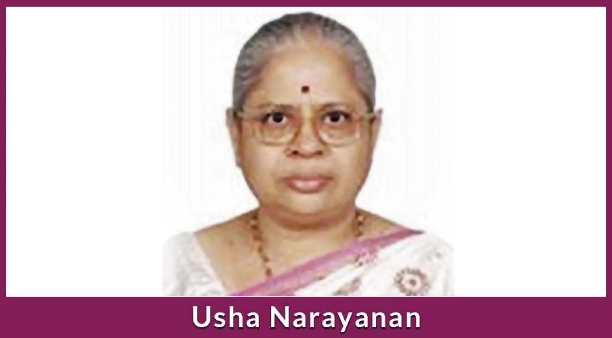 Former SEBI Executive Director, Usha Narayanan passes away