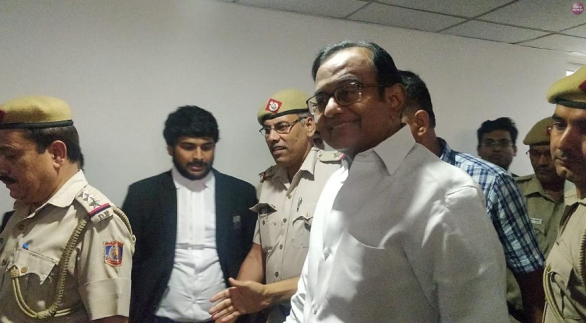 Breaking: Court sends P Chidambaram to CBI custody till August 26