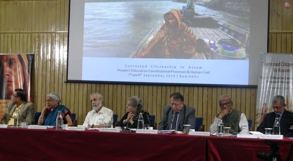 Assam NRC: Deprivation of citizenship should be through rigorous procedure, says People's Tribunal