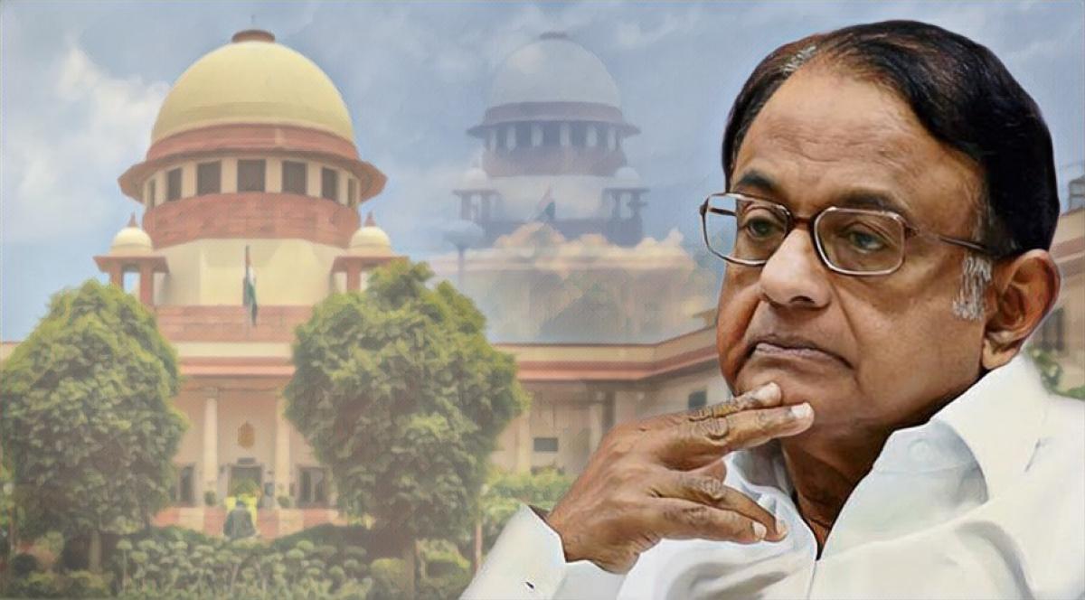 INX Media Case: Supreme Court to hear P Chidambaram bail plea on October 15