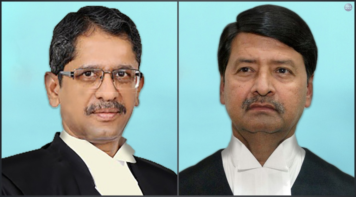 Justices NV Ramana and Ajay Rastogi