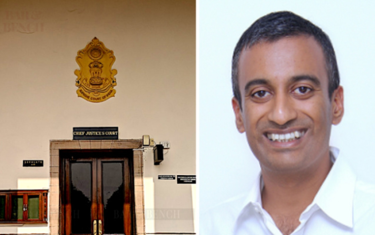 Prof Sudhir Krishnaswamy (In pic)