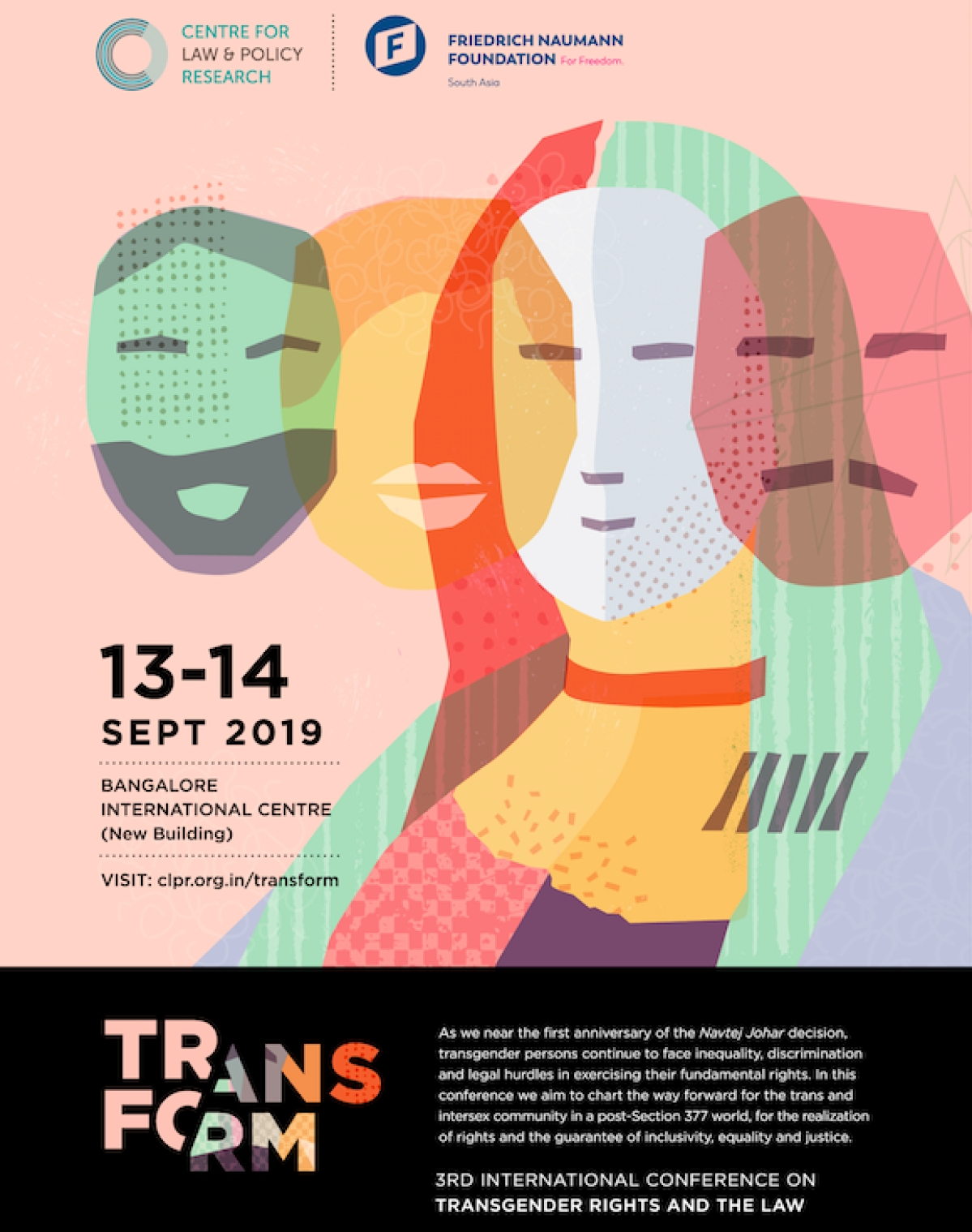 Transform 2019: International Conference on Transgender Rights and the Law