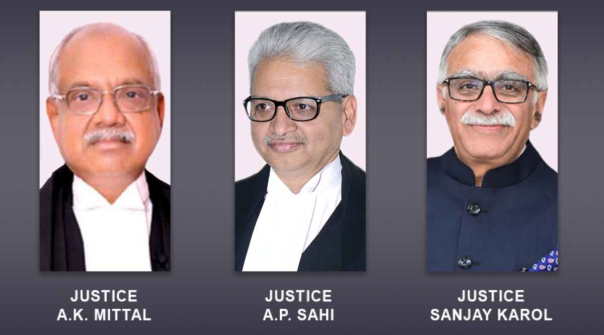 New Chief Justices appointed to Madras, Patna, Madhya Pradesh High Courts [Read Notifications]
