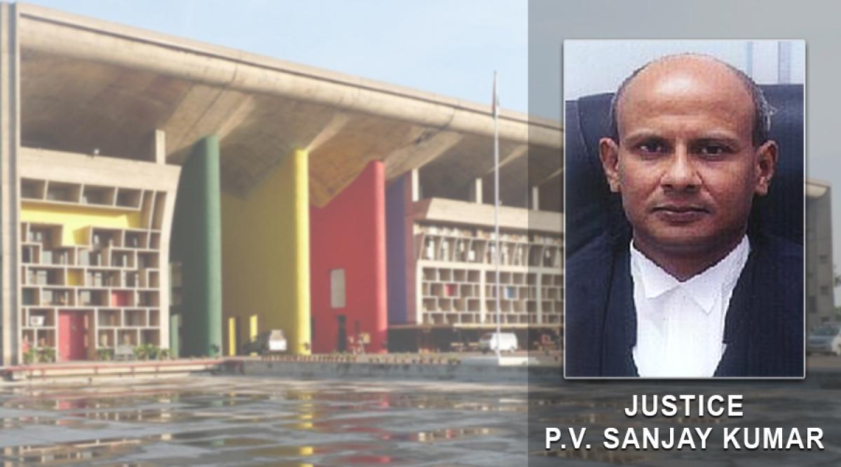 Justice PV Sanjay Kumar from Telangana transferred to Punjab & Haryana High Court