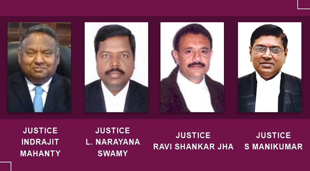New Chief Justices appointed for four High Courts after SC elevations