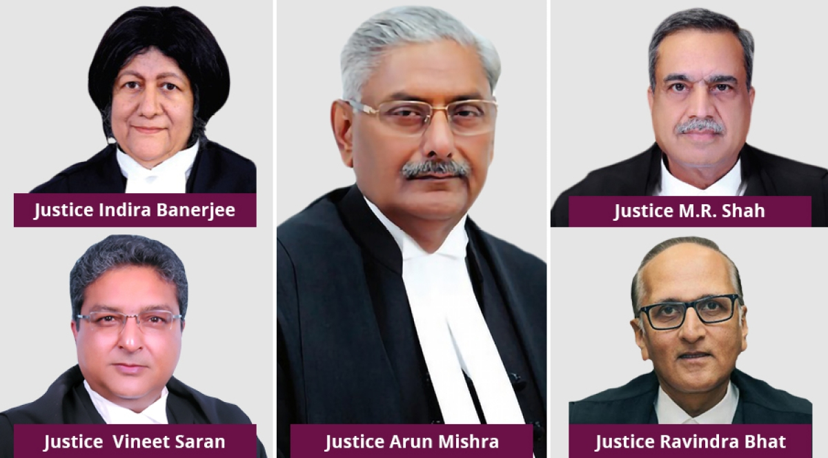 Posterity will not forgive me for setting a bad precedent: Justice Arun Mishra in recusal order [Read Judgment]