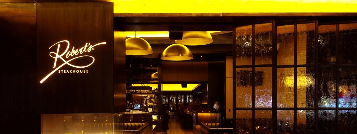 Robert's Steakhouse at The HardRock Hotel & Casino in Atlantic City