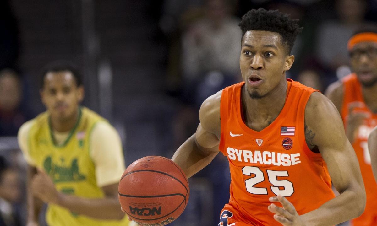 NCAAB: Syracuse +17 @ Duke, Monday, 7 pm  ESPN