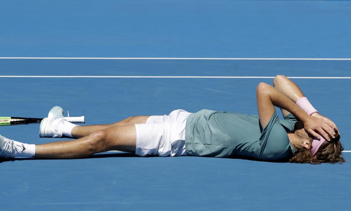 Tennis: The Australian Open Men's Semi-finals