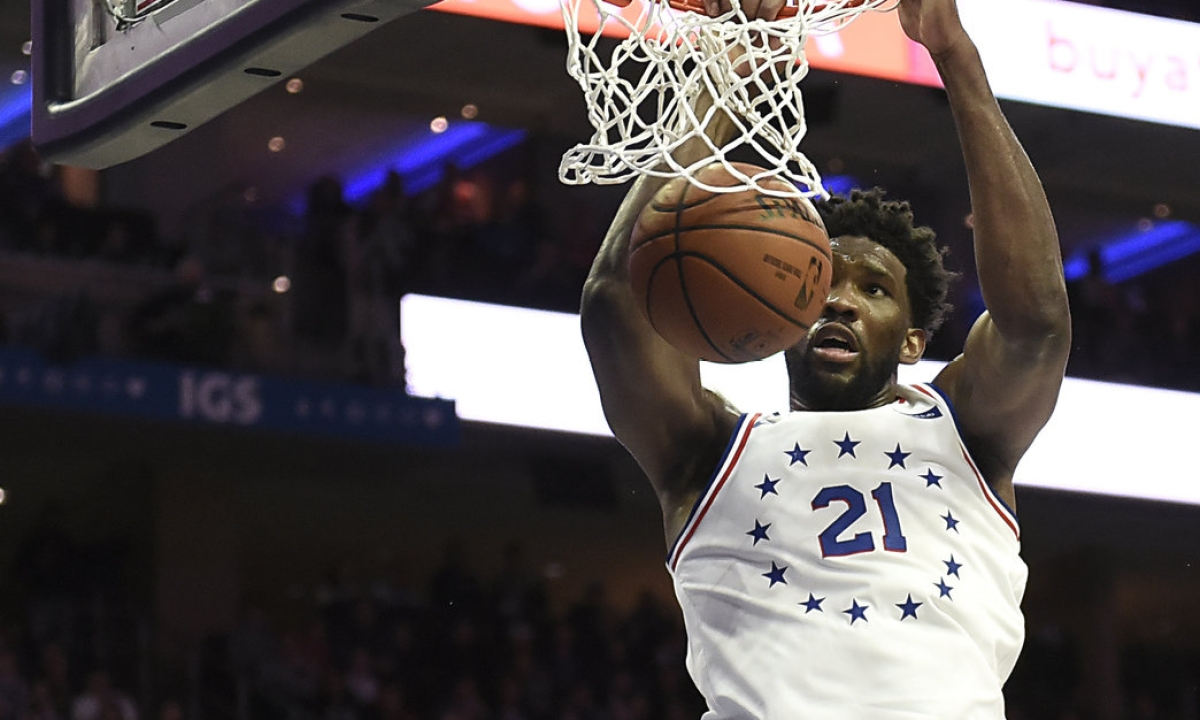 NBA: Sixers, Embiid Head Back to L.A.