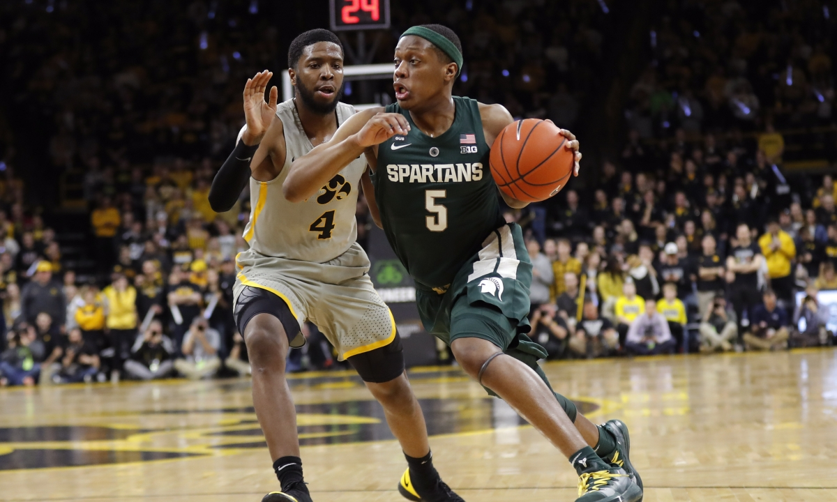 Kern shares his NCAAB picks of the day: DePaul vs Xavier, Iowa vs Michigan State, Toledo vs Central Michigan, and Akron vs Bowling Green