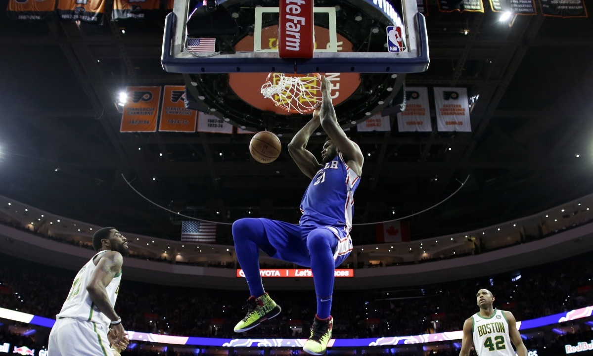 Wednesday BoopStats picks Embiid's over/under as Sixers head to Cleveland to face the Cavs