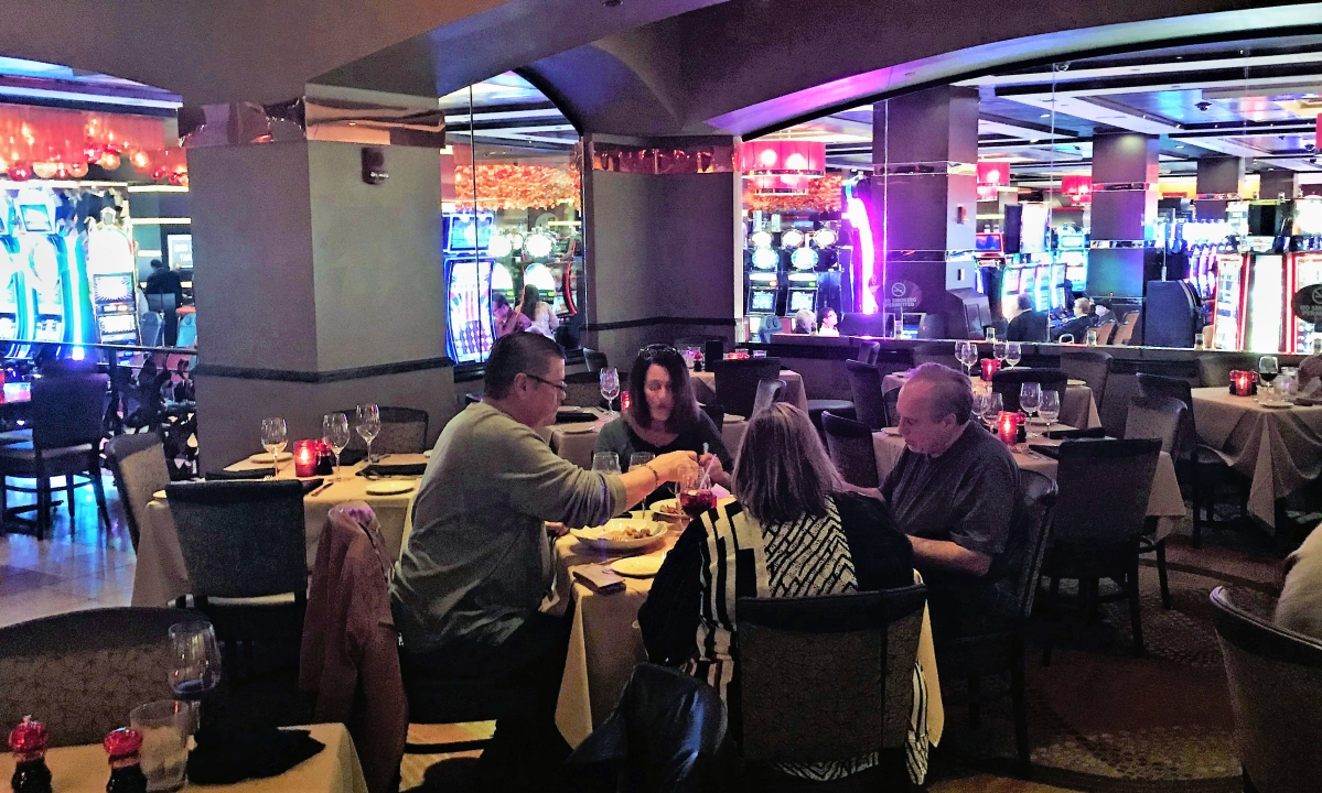 For the old-school way, Golden Nugget's Grotto is the way to go