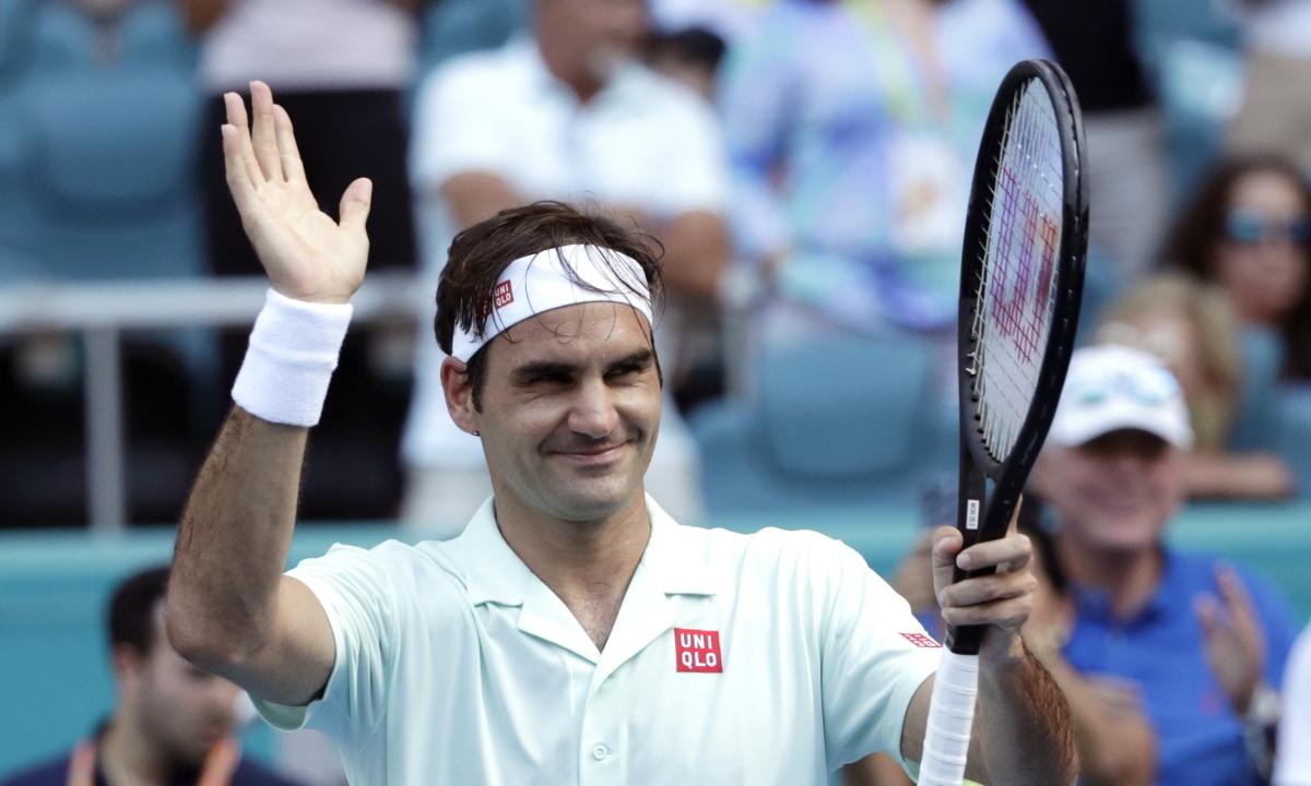 Tennis: Abrams picks the Miami Open men's semis - Federer vs. Shapovalov, Isner vs. FA2