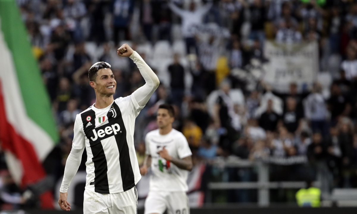 Serie A Saturday Recap: Ronaldo leads Juventus to 8th straight title