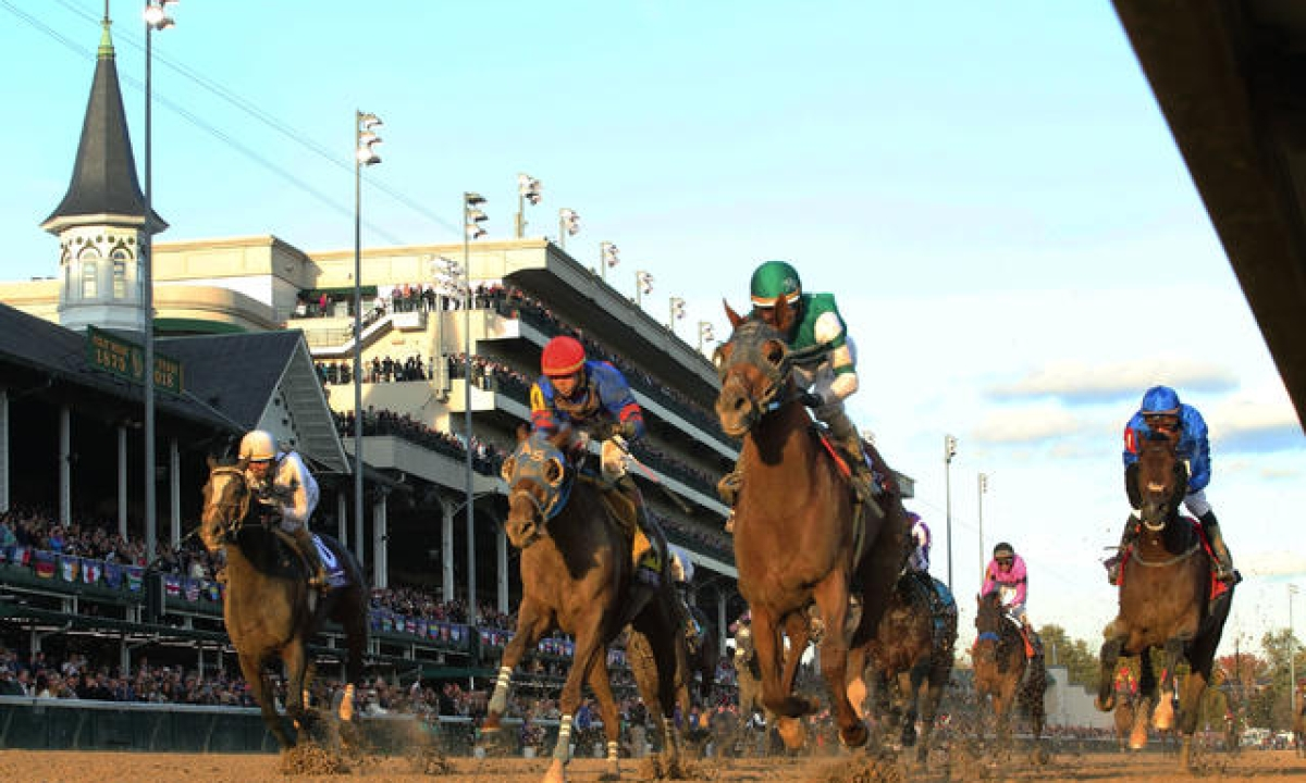 Thoroughbreds Wednesday: Garrity is also betting the races at Churchill Downs – while the weather is still good