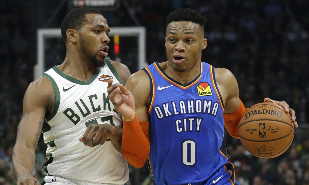 Swish Analytics NBA deep dive of the day - Westbrook and the Thunder v Trail Blazers led by Lillard