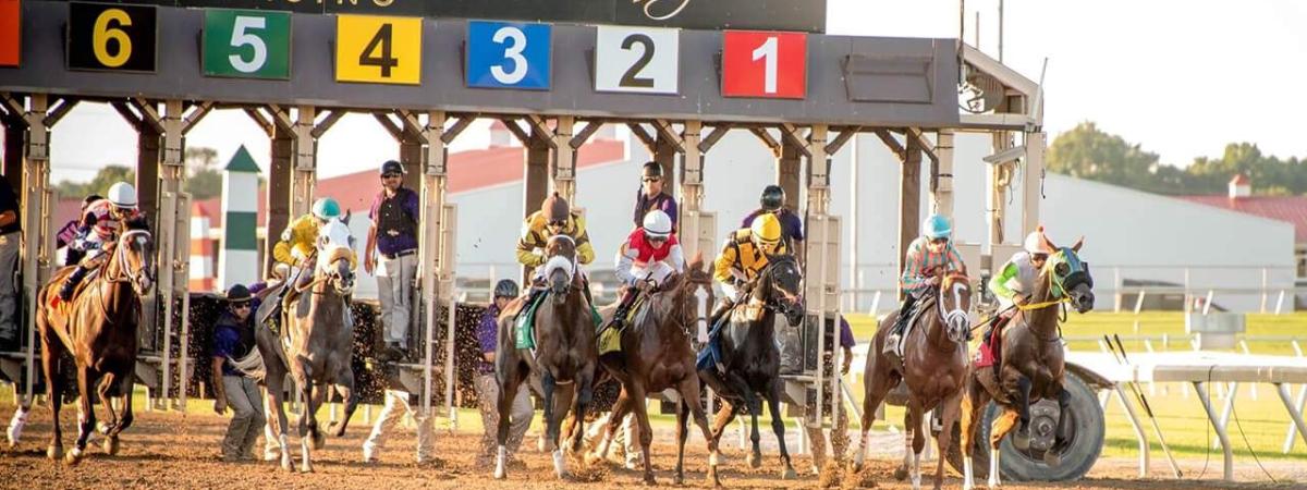 Racing at Indiana Grand