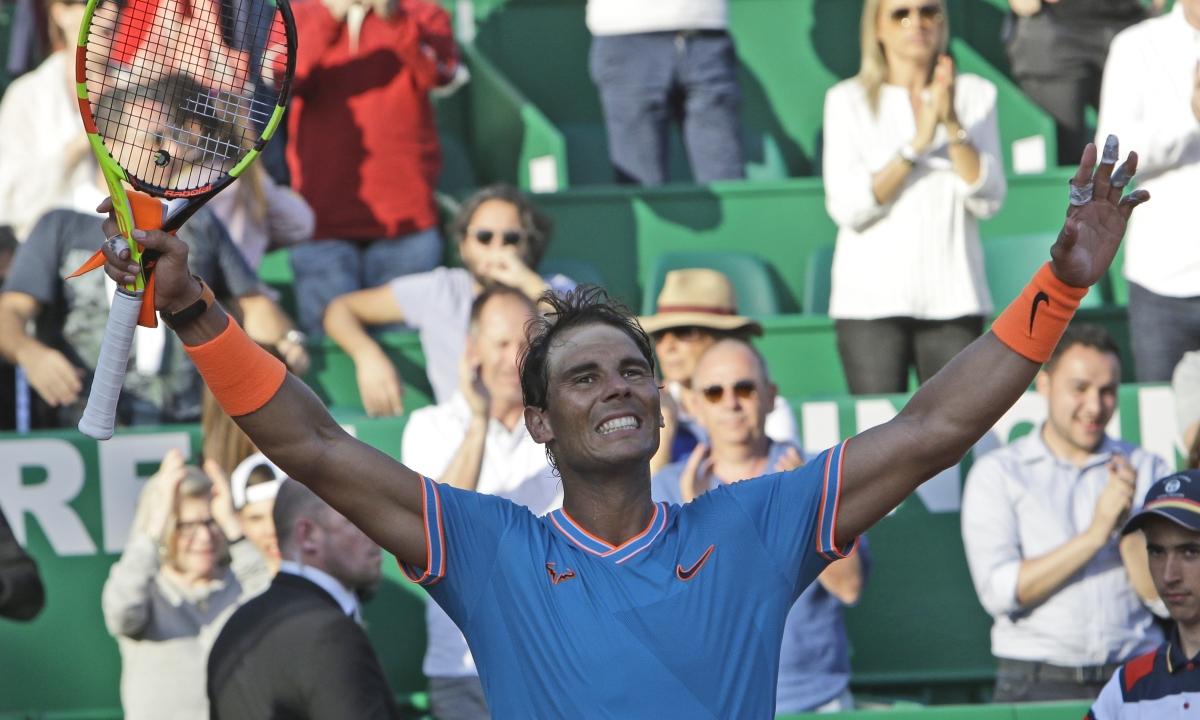 Nadal reaches Monte-Carlo semis, Medvedev ousts Djokovic