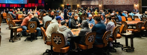 Harrah's brand new WSOP poker room opens Friday, April 26.