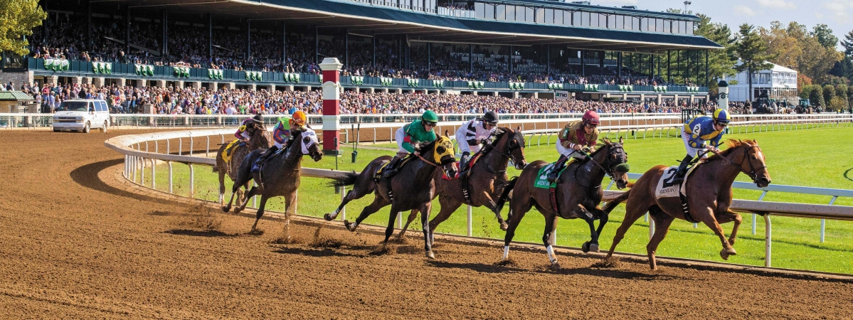 It's opening day at Keeneland in Kentucky.