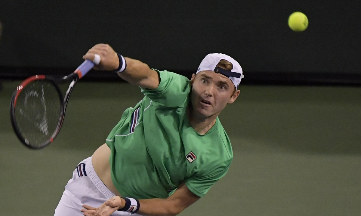 Tennis: Abrams examines the first round of the U.S. Men's Clay Court Championship - Querrey v  Fratangelo & Garcia-Lopez v Rubin