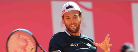 Joao Sousa squares off today against David Goffin at the Estoril Open.