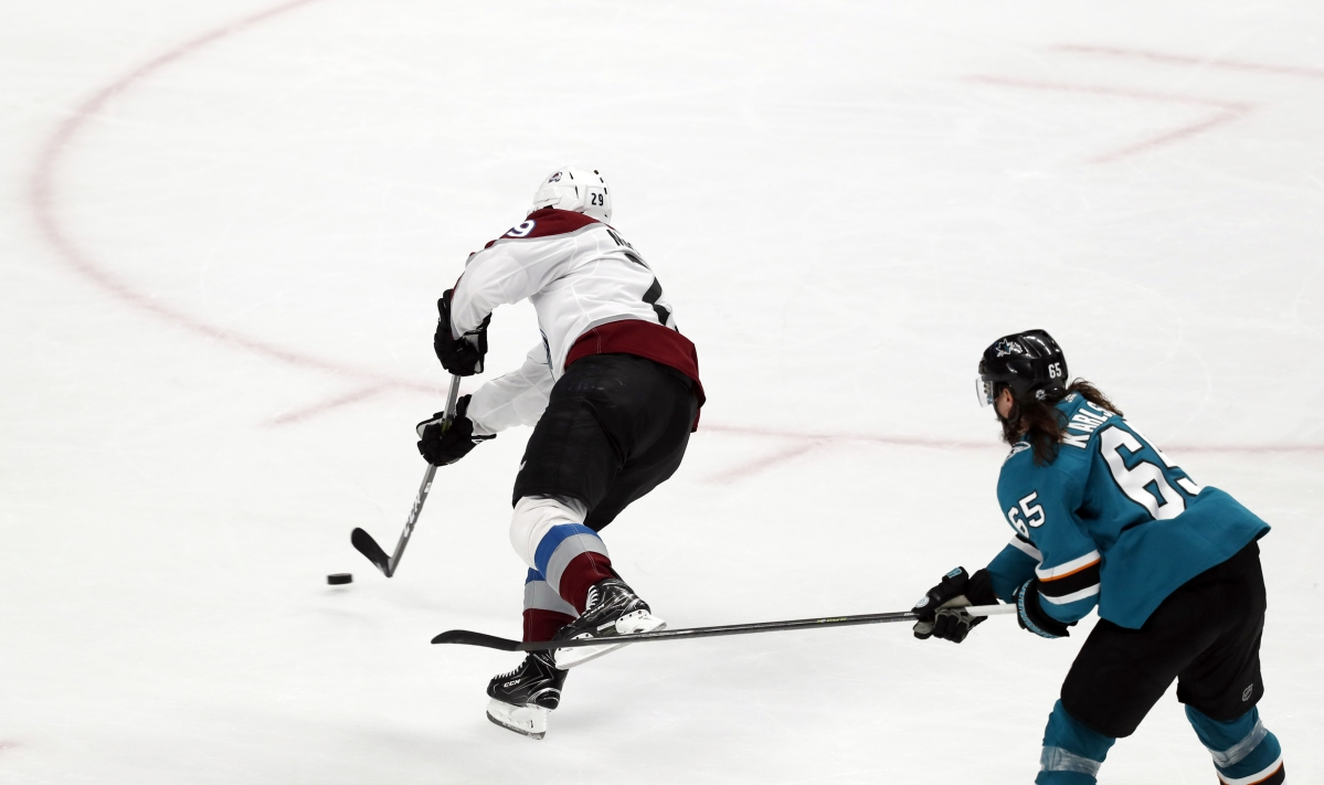 NHL Playoffs Saturday: Dietel picks Avalanche v Sharks