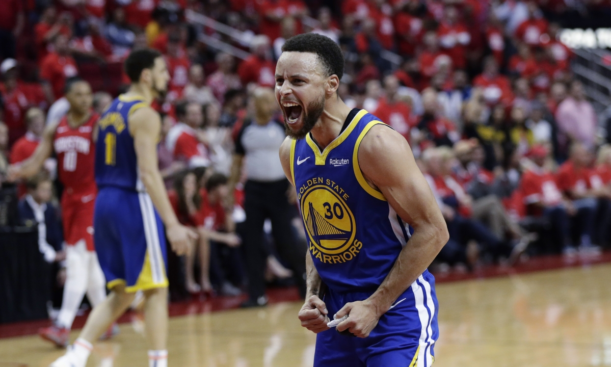 The Right Steph: Short-handed Warriors play like Warriors, beat Rockets on road 118-113 (UPDATED)