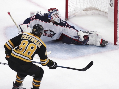 NHL Playoffs Monday: Blue Jackets v Bruins. Dietel weighs in on whether Columbus can force a Game 7