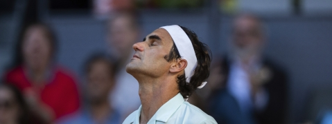 Roger Federer has added Rome to his schedule with hope for a better outcome than he had in Madrid. (AP Photo/Bernat Armangue)