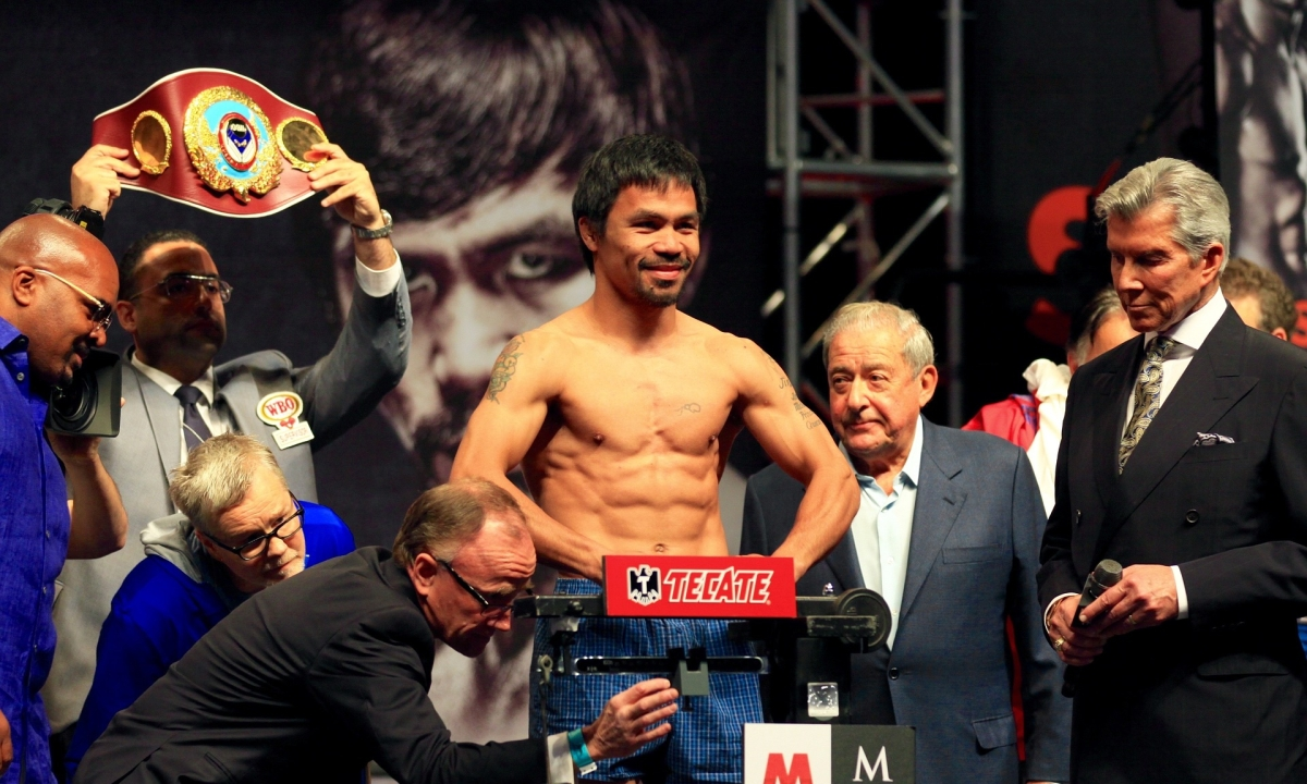 Boxing: Manny Pacquiao to fight unbeaten welterweight champ Keith Thurman July 20 in Las Vegas