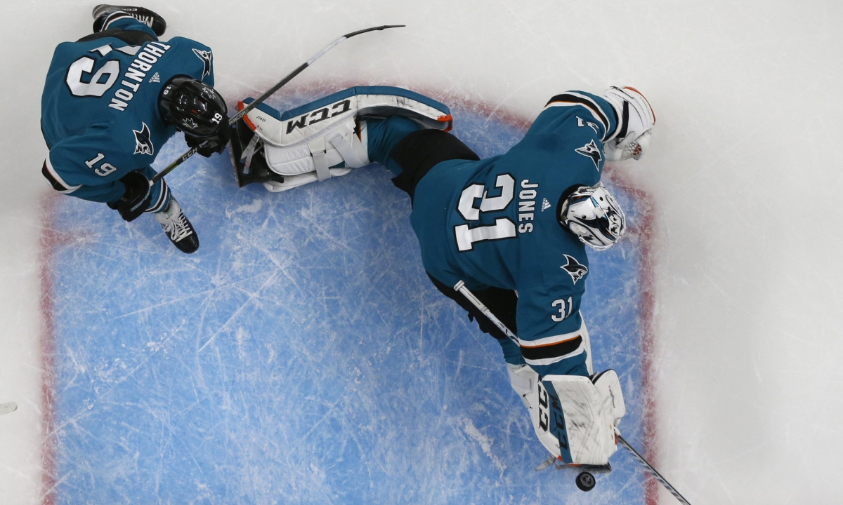 NHL Sunday: Vetrone on Blues vs Sharks, Jordan Binnington, Martin Jones